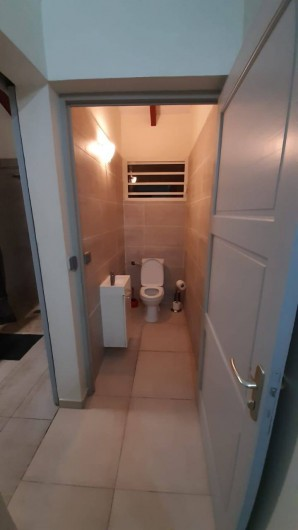 Location de vacances - Appartement à Sainte-Anne - TOILETTE