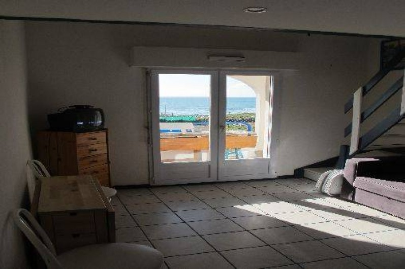 Appartement face mer et plage avec garage piscine tennis for Location garage les sables d olonne particulier