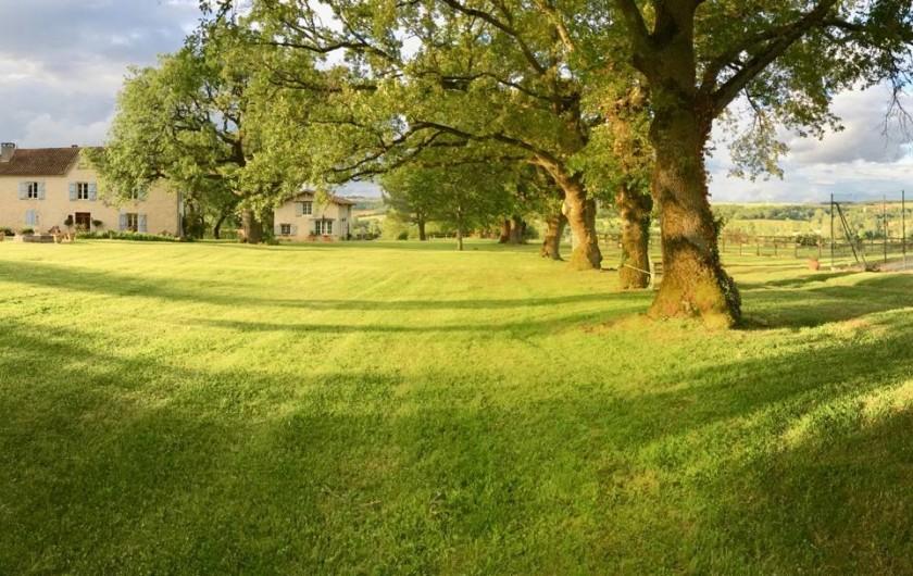 Location de vacances - Maison - Villa à Monfort - A droite des chênes, le tennis