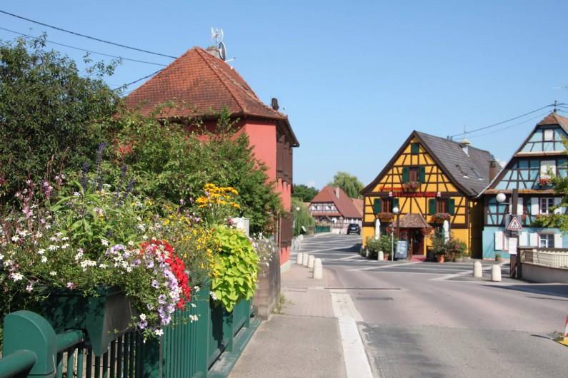 Location de vacances - Gîte à Muttersholtz - Entrée depuis Selestat