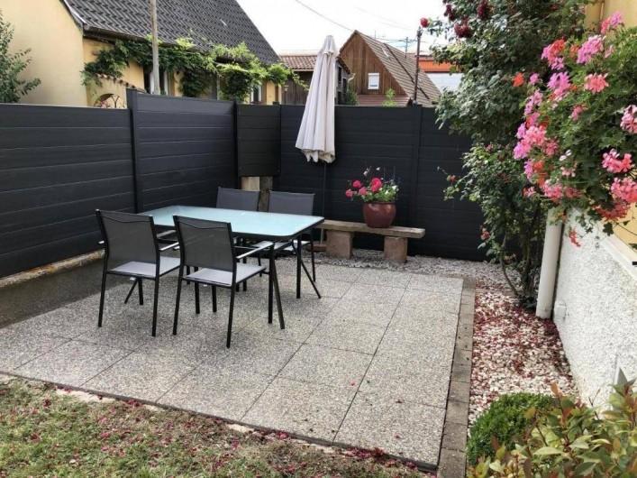 Location de vacances - Gîte à Muttersholtz - terrasse