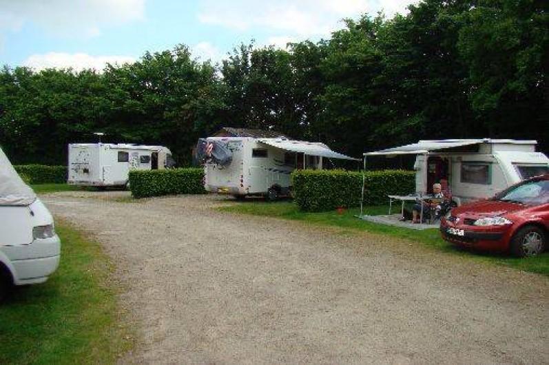 Location de vacances - Chalet à Villiers-Charlemagne - Camping