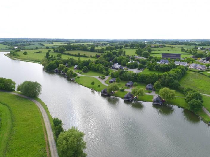 Location de vacances - Chalet à Villiers-Charlemagne - Vue du ciel