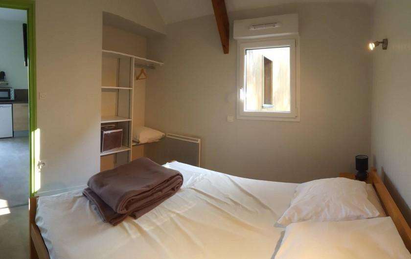 Location de vacances - Chalet à Villiers-Charlemagne - Chambre parentale