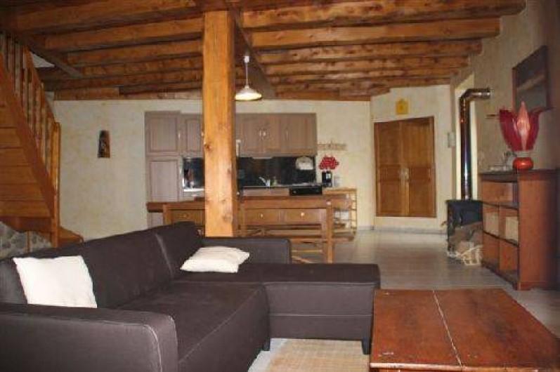 Location de vacances - Gîte à Rochepaule - coin salon