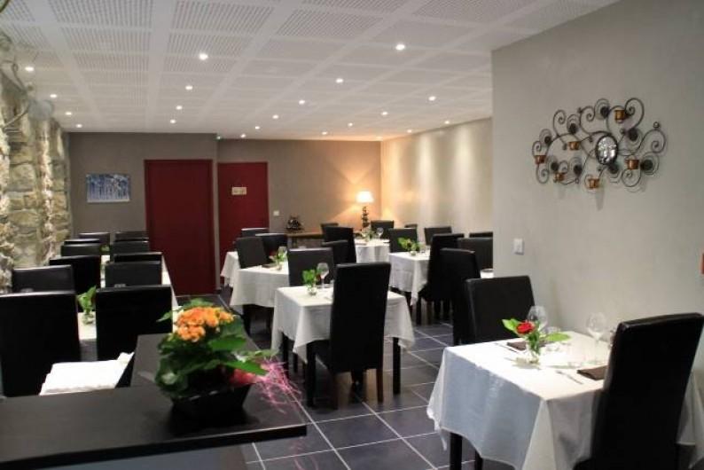 Location de vacances - Gîte à Rochepaule - salle restaurant
