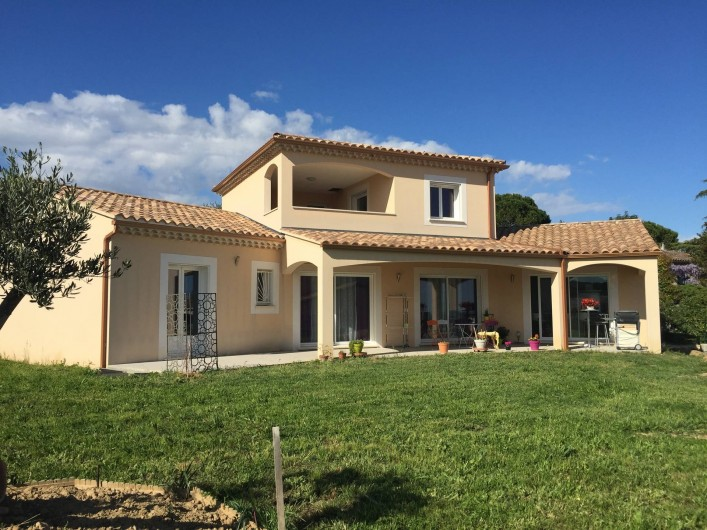Location de vacances - Villa à Saint-Marcel-d'Ardèche
