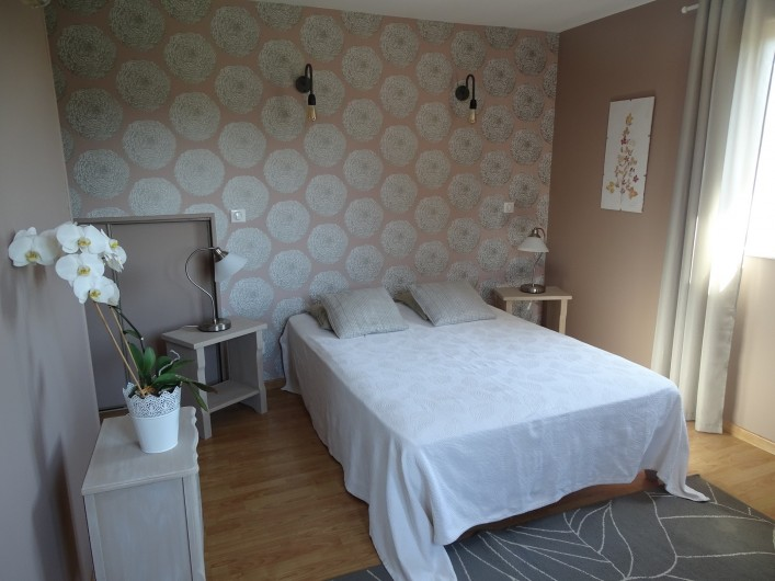 Location de vacances - Gîte à Ladoix-Serrigny - chambre