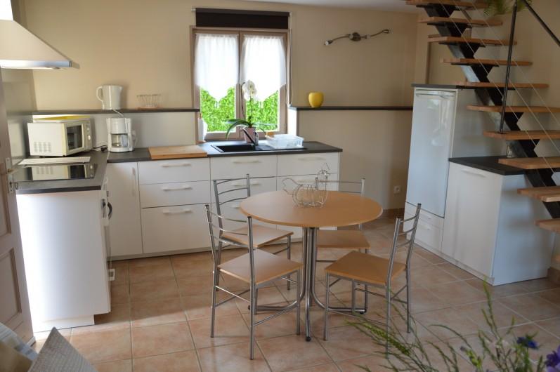 Location de vacances - Gîte à Ladoix-Serrigny - cuisine