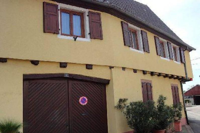 Location de vacances - Gîte à Hattstatt