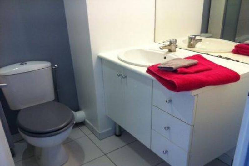 Location de vacances - Studio à Montévrain - Salles de bain + Toilettes