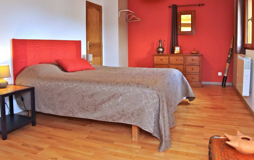 Location de vacances - Villa à Maubec - Literie de qualité pour vous assurer des nuits reposantes pour vos vacances