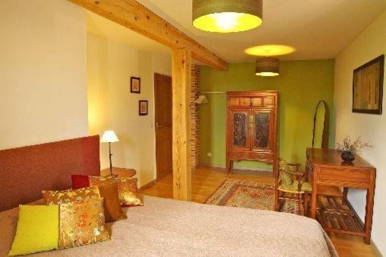 Location de vacances - Villa à Maubec - Literie de qualité pour vous assurer des nuits reposantes durant le séjour