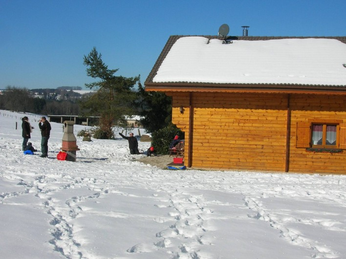 Location de vacances - Chalet à Saint-Nabord