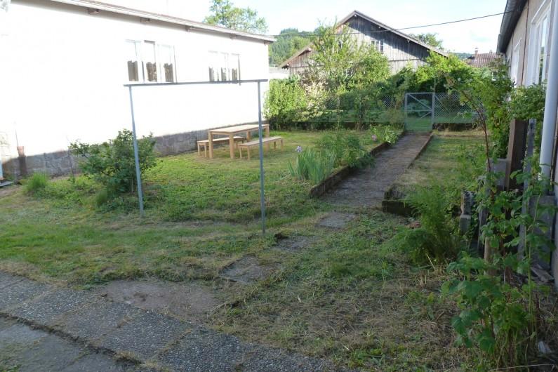 Location de vacances - Appartement à Granges-sur-Vologne - le jardin clos