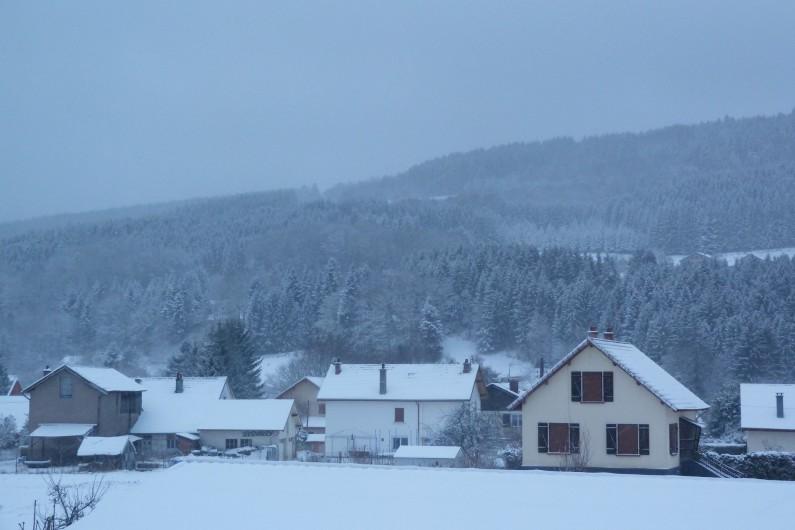 Location de vacances - Appartement à Granges-sur-Vologne - Granges sous la neige