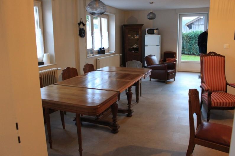 Location de vacances - Appartement à Granges-sur-Vologne - Grand séjour, avec deux salons