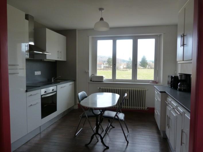 Location de vacances - Appartement à Granges-sur-Vologne - Cuisine tout équipé, cafetière électrique, micro-onde