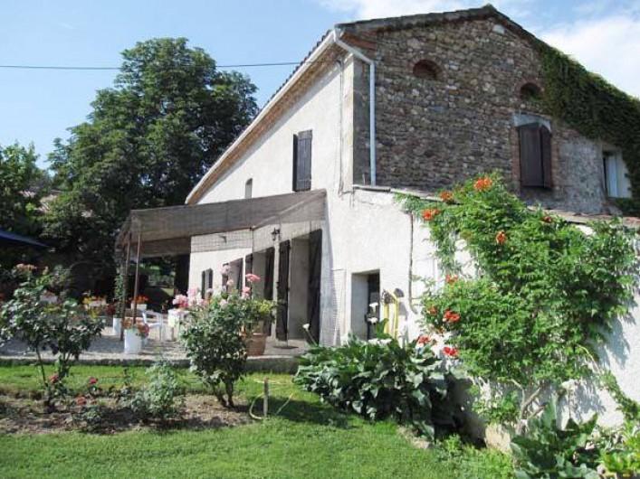 Location de vacances - Maison - Villa à Venes - Facade de la maison