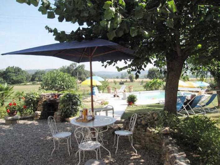 Location de vacances - Maison - Villa à Venes - Terrasse