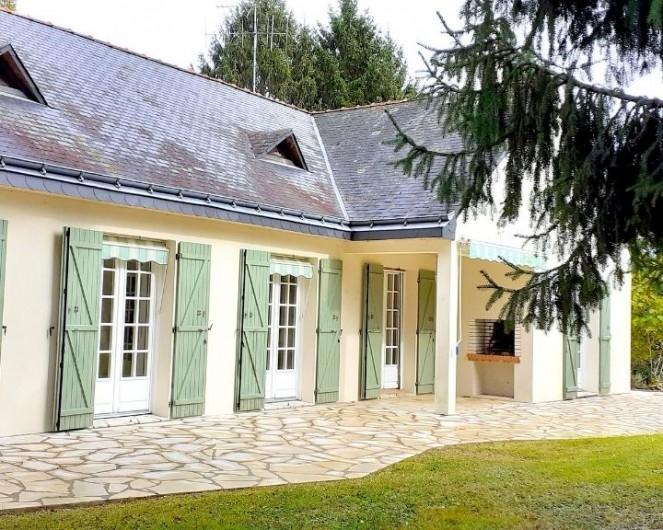 Location de vacances - Villa à Saumur - Gîte une île en ville à Saumur avec piscine intérieure