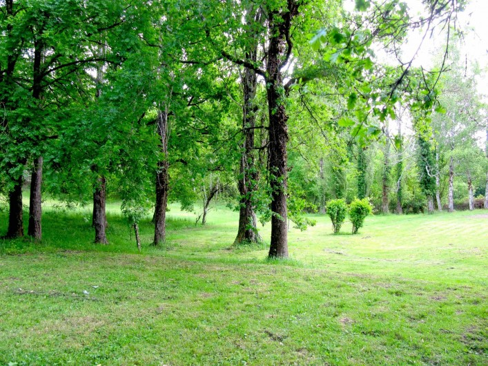 Location de vacances - Villa à Saumur - Chambre Nature 2 couchages, possibles 2 lits individuels