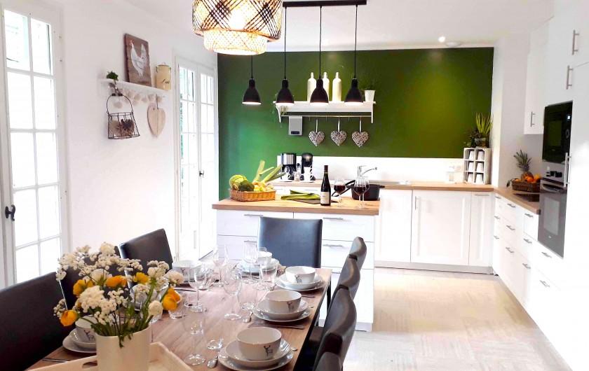Location de vacances - Villa à Saumur - Grandes pièce de vie