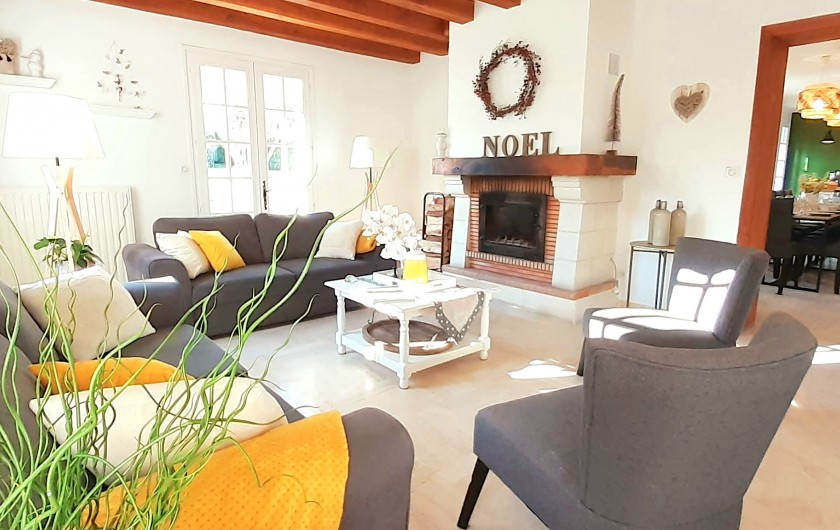 Location de vacances - Villa à Saumur - 6 chambres 15 couchages
