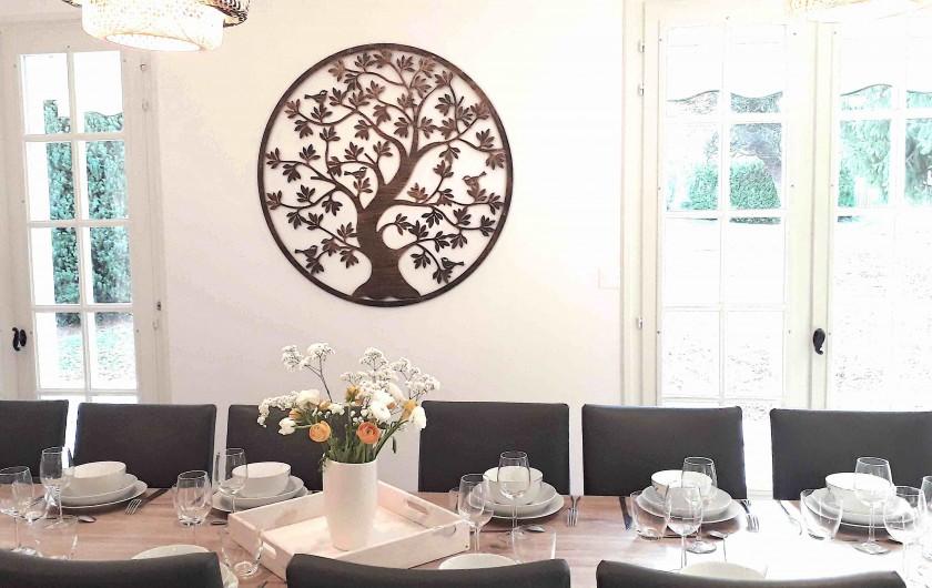 Location de vacances - Villa à Saumur - Chambre étoiles 3 couchages, Possible 3 lits individuels.
