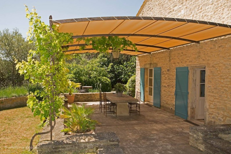 Location de vacances - Mas à Gordes - Terrasse