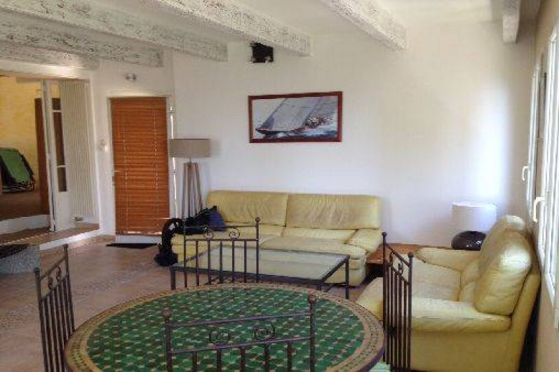 Location de vacances - Villa à Ensuès-la-Redonne - Salon