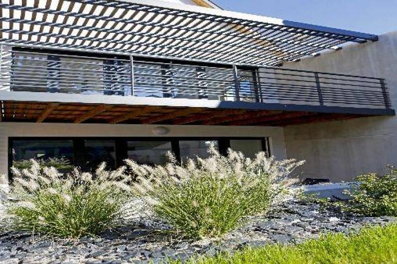Location de vacances - Villa à Beblenheim - Balcon 1er étage