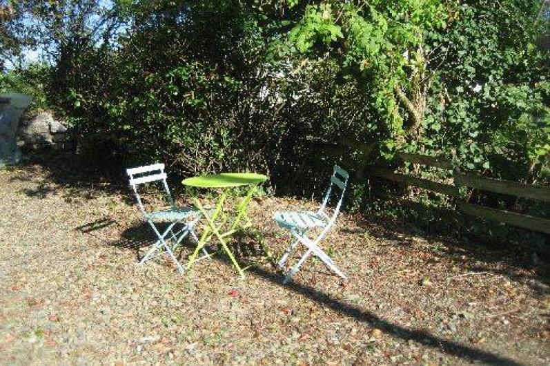 Location de vacances - Chambre d'hôtes à Tasque - petit coin pour prendre un rafraichissement