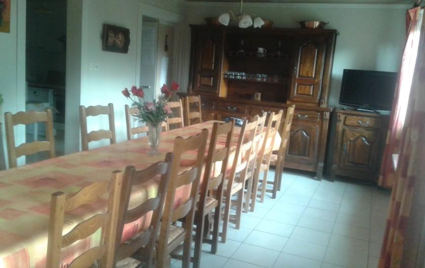 Location de vacances - Gîte à Cornimont - salle pour 20 pers