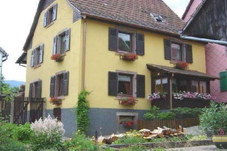 Location de vacances - Appartement à Sondernach - Maison