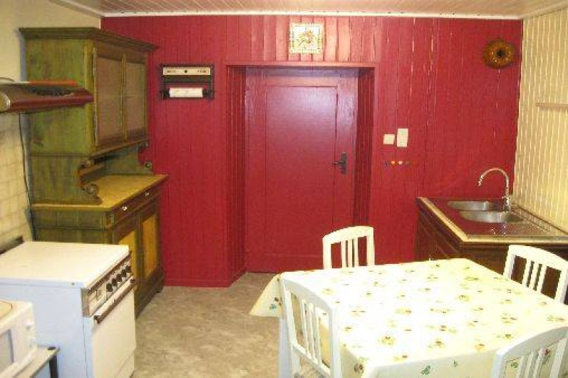 Location de vacances - Appartement à Sondernach - Cuisine