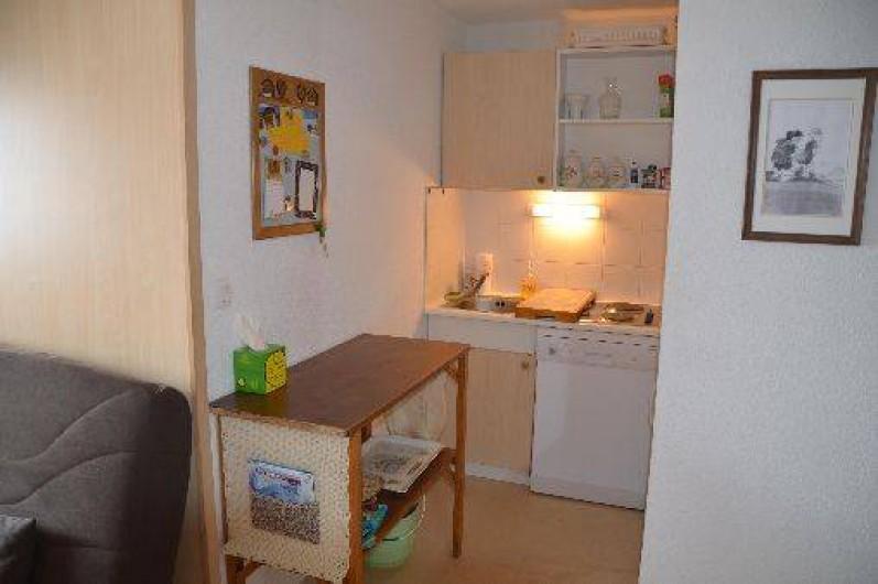 Location de vacances - Appartement à La Foux d'Allos - Le coin cuisine