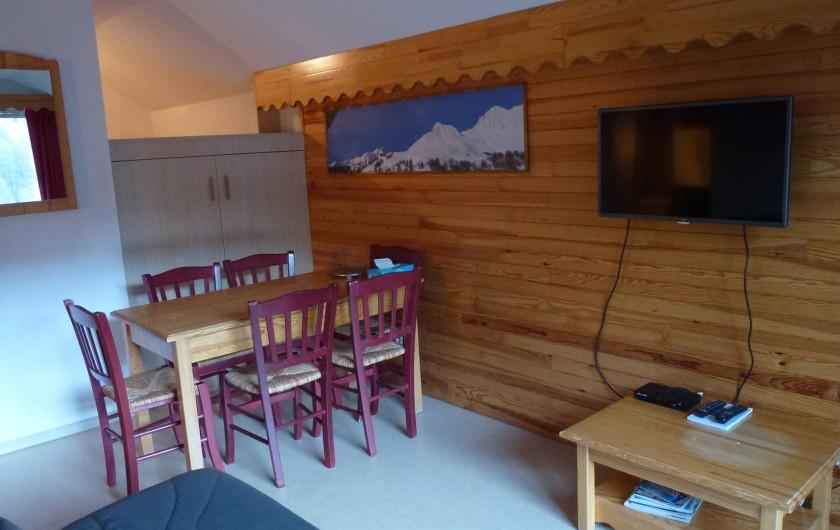 Location de vacances - Appartement à La Foux d'Allos - Pièce principale