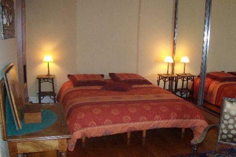 Location de vacances - Maison - Villa à Granville - Chambre n°1, version lit double
