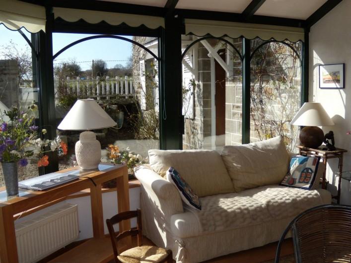 Location de vacances - Maison - Villa à Granville - Véranda