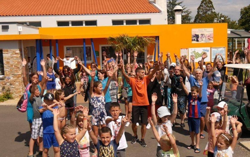 Location de vacances - Bungalow - Mobilhome à Landevieille - Animation gratuites journée et soirée pour toute la famille