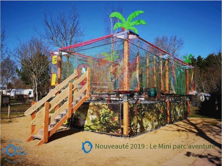 Location de vacances - Bungalow - Mobilhome à Landevieille - Parcours accrobranche pour enfants accessible toute la journée