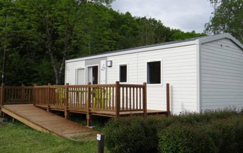 Location de vacances - Camping à Dolus-d'Oléron - Mobil Home PMR – Formule 6
