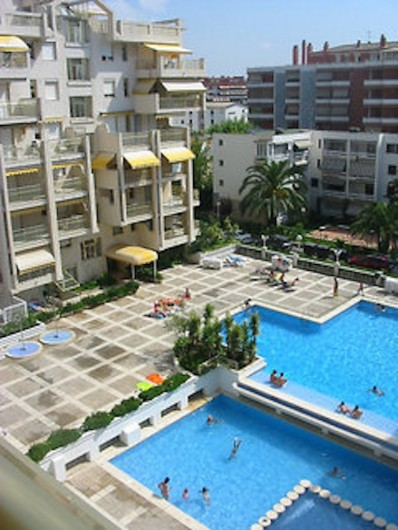 Location de vacances - Appartement à Salou - Piscina