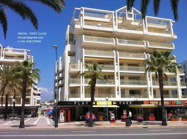 Location de vacances - Appartement à Salou - Edificio