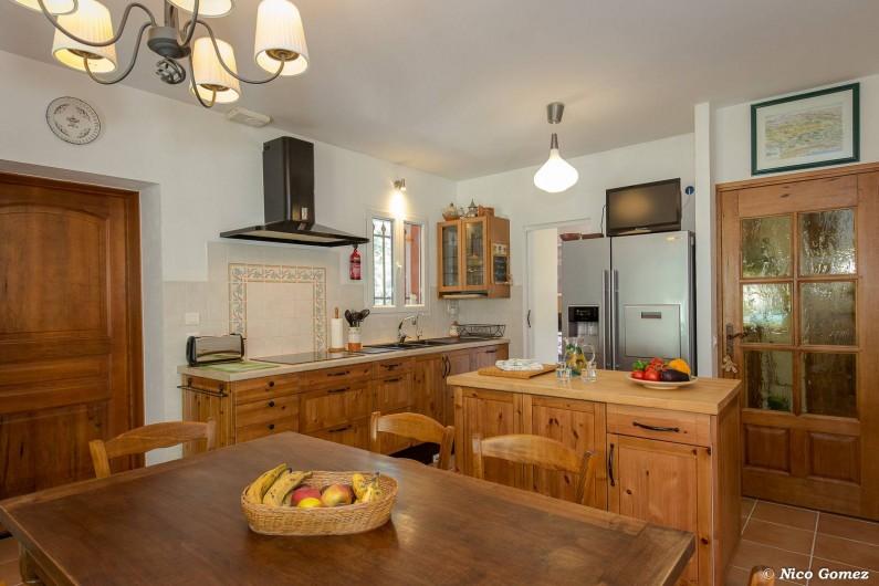 Location de vacances - Villa à Fayence - cuisine