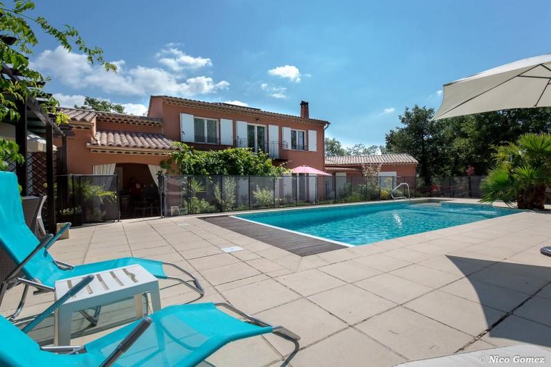 Location de vacances - Villa à Fayence - vue générale