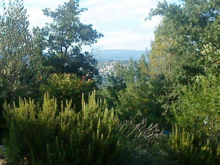 Location de vacances - Villa à Fayence - vue village de Fayence