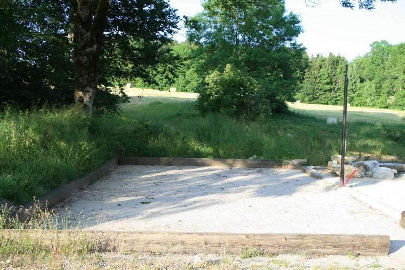 Location de vacances - Gîte à Arc-sous-Cicon - Terrain de pétanque