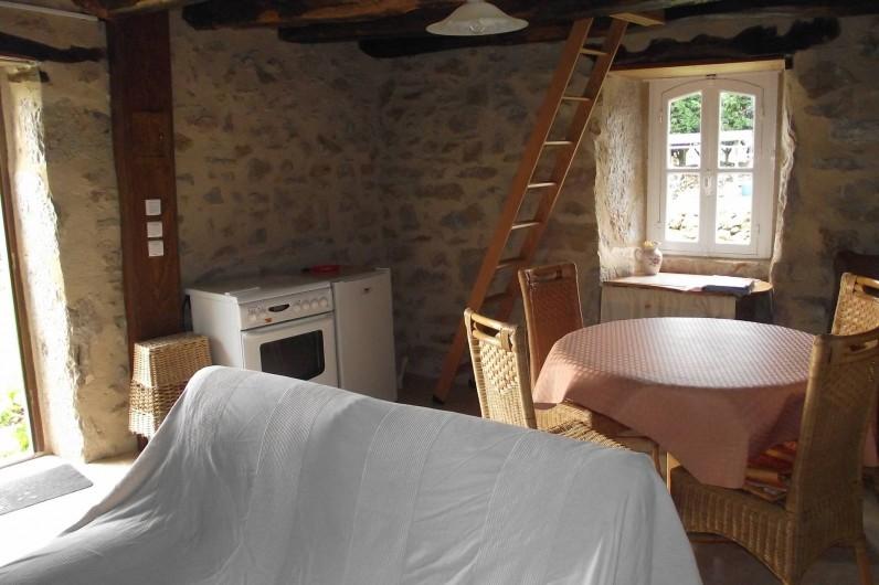Location de vacances - Gîte à Loubressac - salle à manger